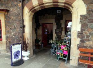 Front of Shrinking Violet at Great Malvern Train Station