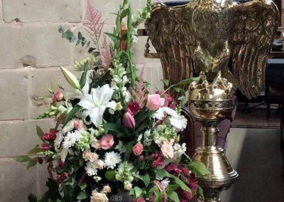 Chruch Flowers for Malvern St James