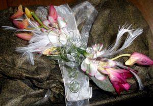 Corsage by Shrinking Violet