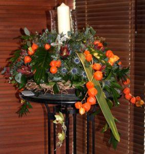 Orange Elegance by Shrinking Violet