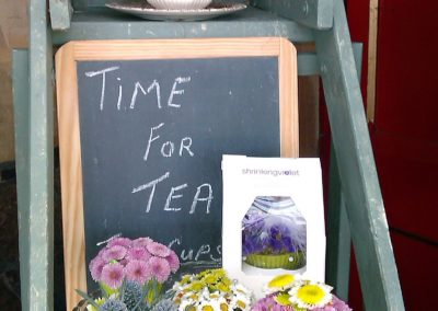 Time for tea display by Shrinking Violet