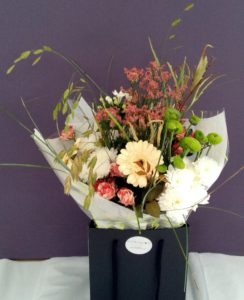 Natural grass bouquet by Shrinking Violet