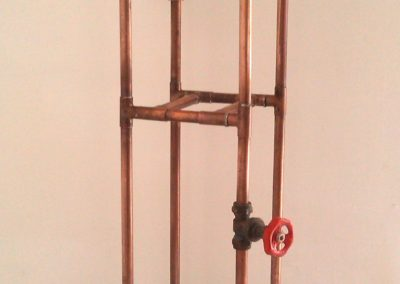 Copper display stand