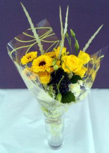 Small yellow bouquet by Shrinking Violet