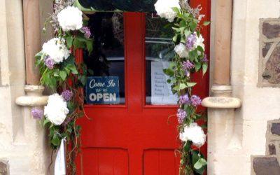 Shrinking Violet brightening up Malvern with flowers