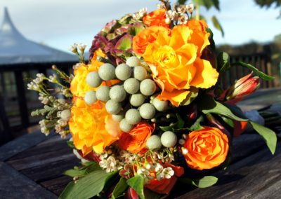Autumn wedding bouquet by Shrinking Violet Bespoke Floristry