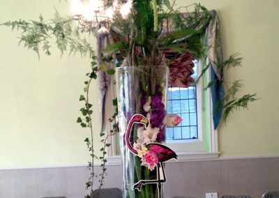 Flamingo arrangement